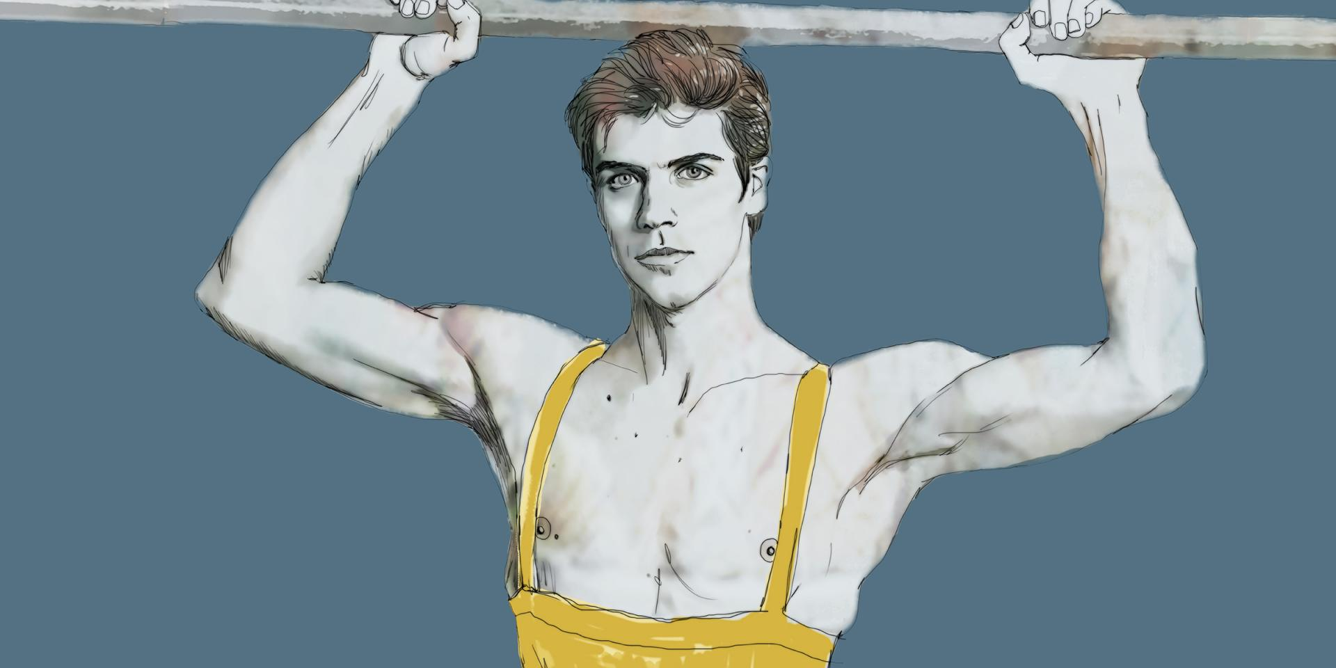 Illustrazione di Sara Rambaldi per Roberto Bolle and Friends