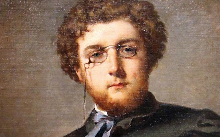 Félix Henri Giacomotti (1828-1909), Georges Bizet (1838-1875). Oil on canvas, 1860. Paris, Musée Carnavalet.