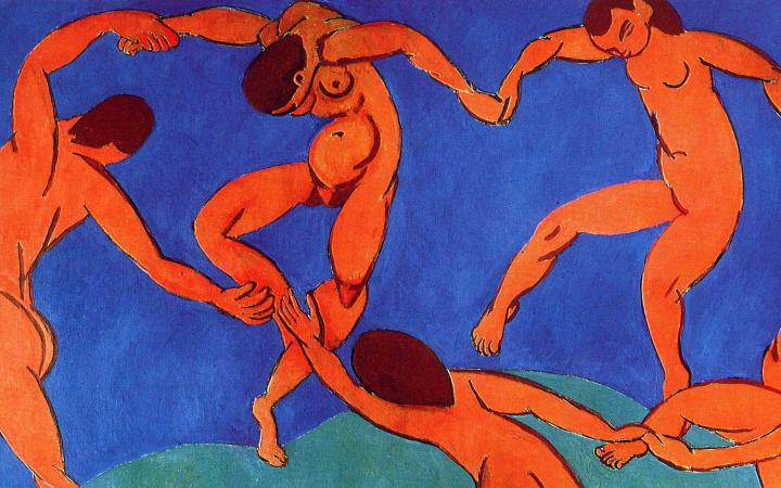 Henri Matisse, La Danse (1910). Oil on canvas, The State Hermitage Museum, Saint Petersburg