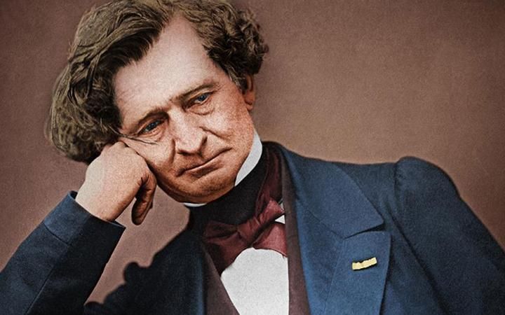 Hector Berlioz, picture of the 1863 by Pierre Petit
