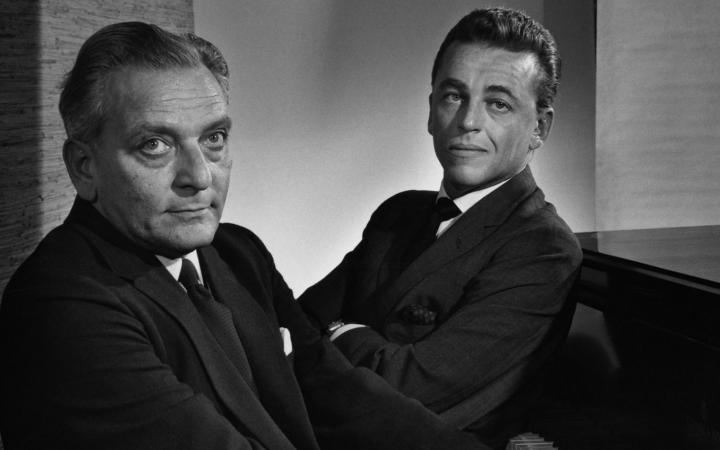 Frederick Loewe and Alan Jay Lerner (ph Yousuf Karsh 1959)