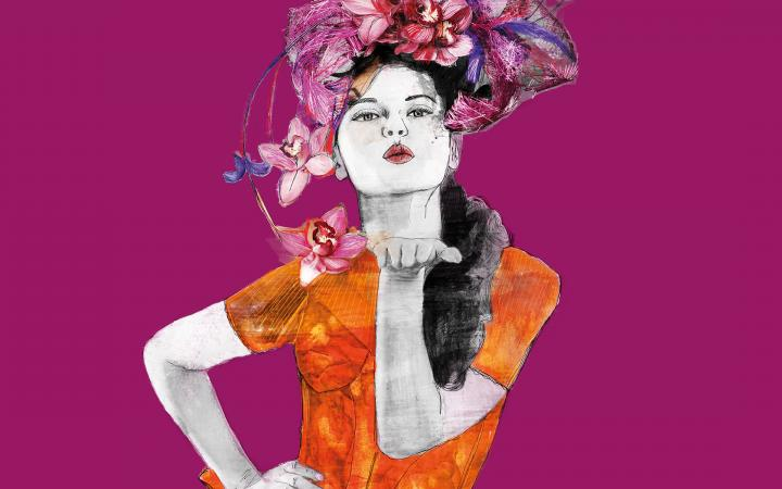 Illustration by Sara Rambaldi for My Fair Lady