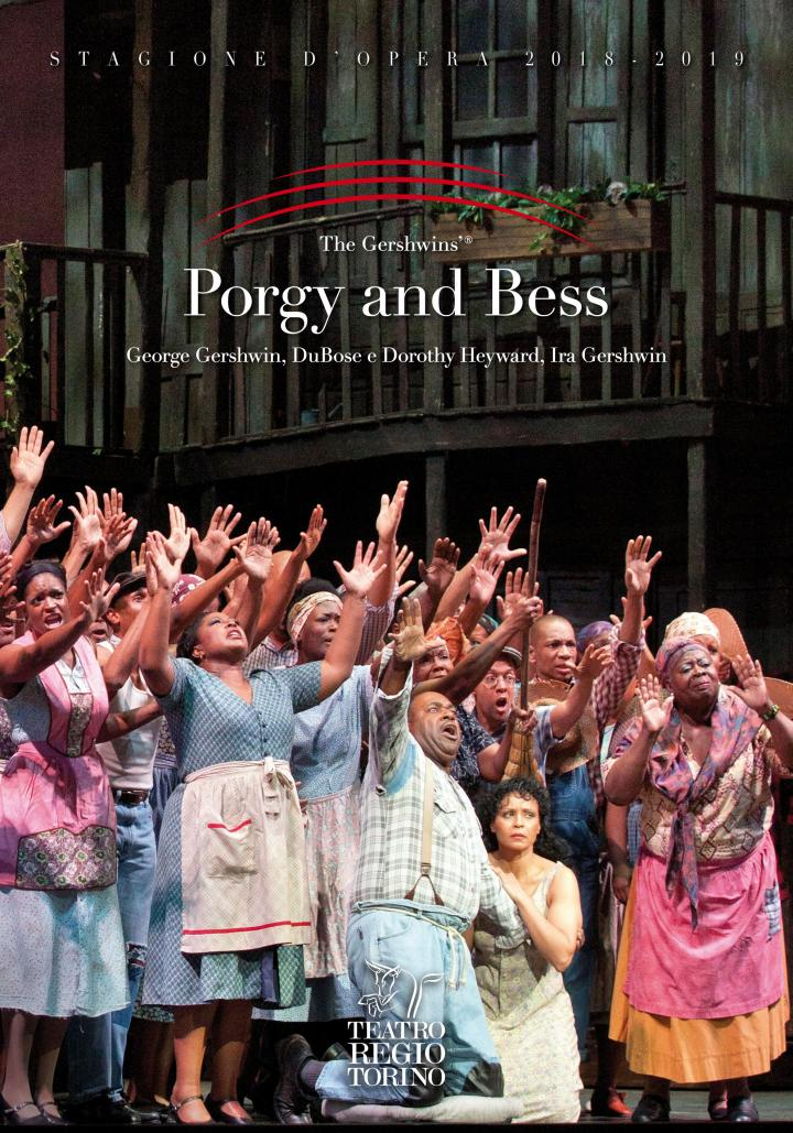 Copertina del volume su Porgy and Bess