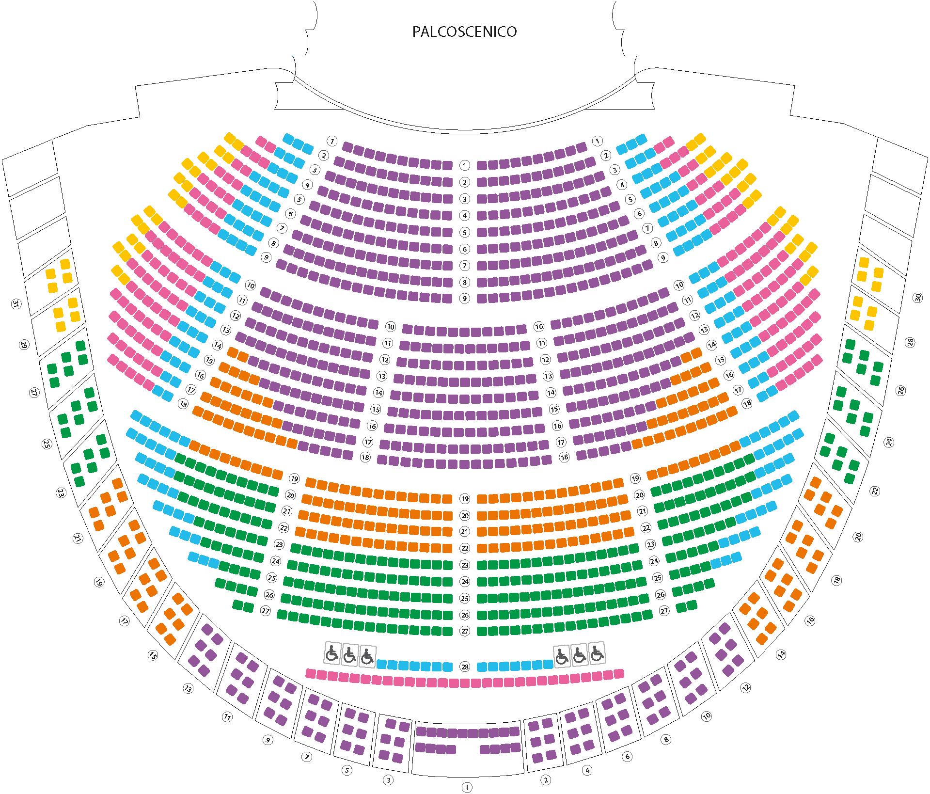 Calendario Pesca 2020.Abbonamenti Opera E Balletto 2019 2020 Teatro Regio Torino