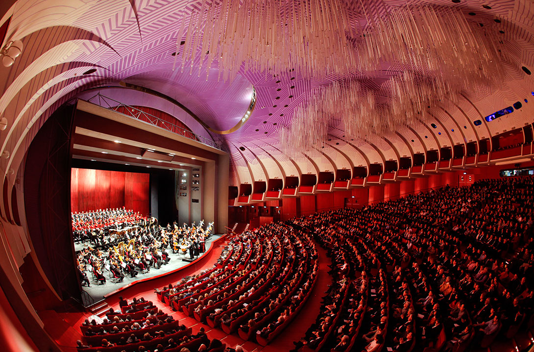 The hall of Teatro Regio