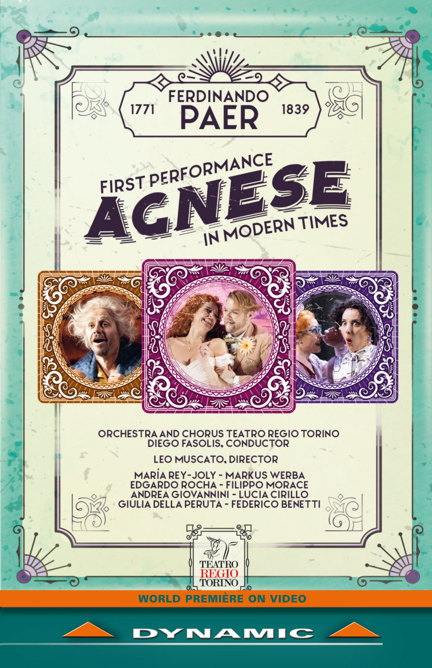 Agnese dvd bluray cover