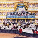 Jousting race in Torino on 21 February 1839 during the passage of His Imperial and Royal Highness Alexander, Grand Duke Imperial Hereditary Prince of Russia, Torino