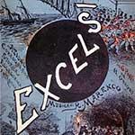Copertina del libretto di Excelsior, azione coreografica, storica, allegorica, fantastica in 6 parti e 11 quadri di Luigi Manzotti su musica di Romualdo Marenco, 1881-82