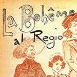 Costumes for La Bohème reproduced by Caramba ne La Luna, n. 6, 1896