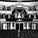 Vista della sala del palcoscenico