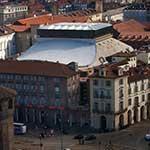 Il Teatro Regio nella cornice del  centro storico di Torino